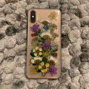 check out 568b5 258da REAL pressed flower iPhone X/XS case